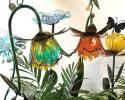 Add artistic flair and functionality to your lawn with our colorful solar lights!