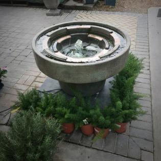 Fountains bring your garden to life.